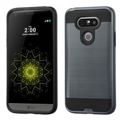 LG G5 Ink Blue/Black Brushed Hybrid Case