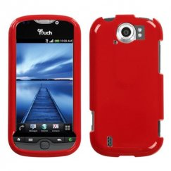HTC myTouch 4G Slide Solid Flaming Red Case