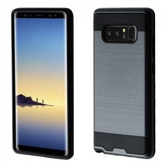 Samsung Galaxy Note 8 Ink Blue/Black Brushed Hybrid Case