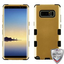 Samsung Galaxy Note 8 Gold/Black Hybrid Case Military Grade