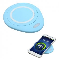 Samsung Galaxy S6 Blue Wireless Charging Pad