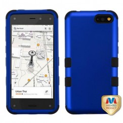 Amazon Amazon Fire Phone Titanium Dark Blue/Black Hybrid Case