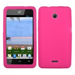 Huawei Valiant / Ascend Plus Solid Skin Cover - Hot Pink