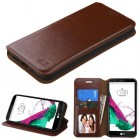 LG G5 Brown Wallet with Tray