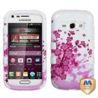 Samsung Galaxy Ring Spring Flowers/Solid White Hybrid Case