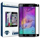 Tech Armor Elite Samsung Galaxy Note 4 Edge to Edge Ballistic Glass Screen Protector - Black