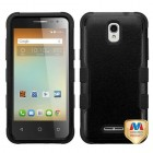 Alcatel One Touch Elevate Natural Black/Black Hybrid Phone Protector Cover