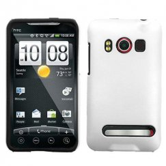 HTC EVO 4G Solid Ivory White Fusion Case