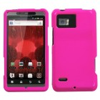 Motorola Droid Bionic Solid Shocking Pink Case