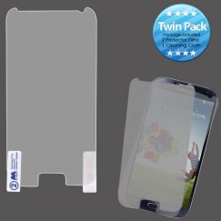 Samsung Galaxy S4 Screen Protector Twin Pack