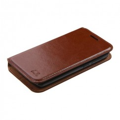 ZTE Uhura N817 Brown Wallet with Tray