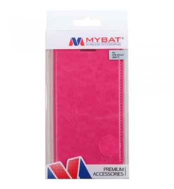 ZTE Uhura N817 Hot Pink Wallet with Tray