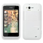 HTC Rhyme Solid Skin Cover - Translucent White