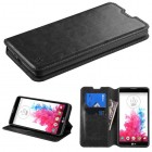 LG G Vista Black Wallet with Tray