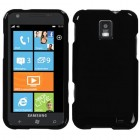 Samsung Focus S Solid Black Phone Protector Cover