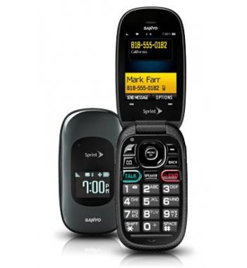 Sanyo Vero Basic Camera Flip Bluetooth Phone Sprint