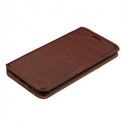 LG K8 / Phoenix 3 Brown Wallet with Tray