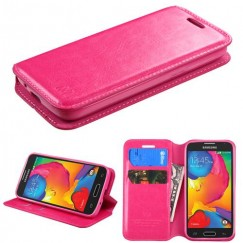 Samsung Galaxy Avant Hot Pink Wallet with Tray