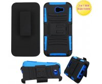 Black/Dark Blue Advanced Armor Stand Protector Cover Combo (with Black Holster)