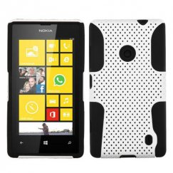 Nokia Lumia 520 White/Black Astronoot Case