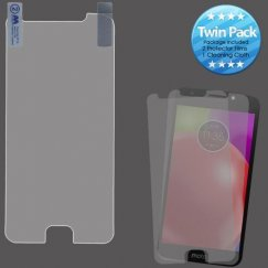 Motorola Moto E4 Screen Protector Twin Pack (Strong Adhesion & Ultra-thin)