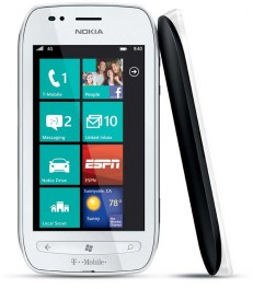 Nokia Lumia 710 8GB Windows 7 Smartphone for T-Mobile - White
