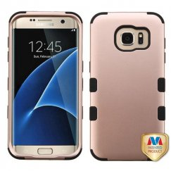 Samsung Galaxy S7 Edge Rose Gold/Black Hybrid Case