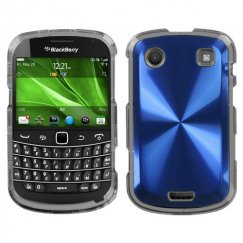Blackberry Bold 9930 Blue Cosmo Case
