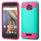 Coolpad Catalyst Teal Green/Hot Pink Brushed Hybrid Case