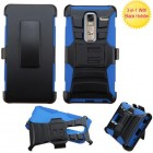 LG Class / Zero Black/ Blue Advanced Armor Stand Case with Black Holster