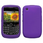 Blackberry 9300 Curve Solid Skin Cover (Dr Purple)