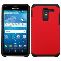 Kyocera Hydro Reach / Hydro View Red/Black Astronoot Case