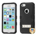 Apple iPhone 5/5s Natural Black/Black Hybrid Phone Protector Cover (with Stand)