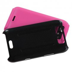 LG Connect 4G Pink Inverse Fusion Case