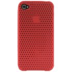 Apple iPhone 4 Premium Silicone Skin Red