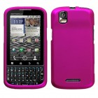 Motorola Droid Pro Titanium Solid Hot Pink Phone Protector Cover