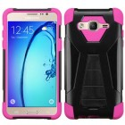 Samsung Galaxy On5 Hot Pink Inverse Advanced Armor Stand Case