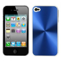 Apple iPhone 4/4s Blue Cosmo Back Case
