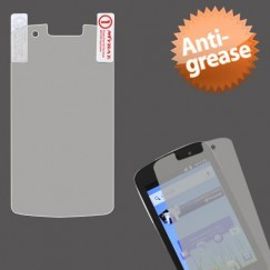 Coolpad Quattro 4G Anti-grease LCD Screen Protector/Clear