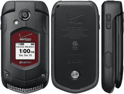 Kyocera DuraXV Plus E4520PTT Rugged Flip Phone for Verizon - Black