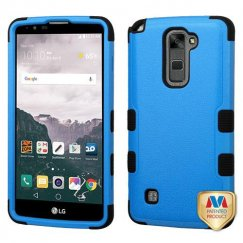 LG LG G Stylo 2 Plus Natural Dark Blue/Black Hybrid Case