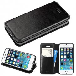 Apple iPhone 5s Black Wallet