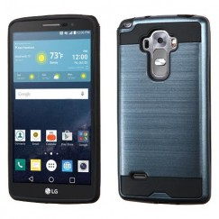 LG G Vista 2 Ink Blue/Black Brushed Hybrid Case