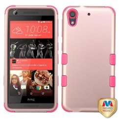 HTC Desire 626 Rose Gold/Electric Pink Hybrid Case