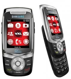 Samsung Slash M310 Basic Phone for Virgin Mobile - Gray