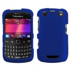 Blackberry 9360 Curve Titanium Solid Dark Blue Phone Protector Cover