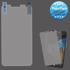 Alcatel One Touch Fierce XL Screen Protector Twin Pack