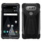 LG V20 Black Inverse Advanced Armor Stand Protector Cover