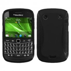 Blackberry Bold 9930 Rubberized Black/Black Mixy Case