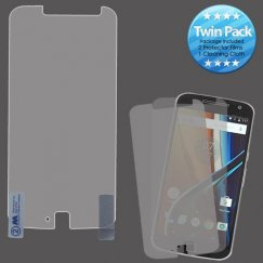 Motorola Moto G4 / Moto G4 Plus Screen Protector Twin Pack